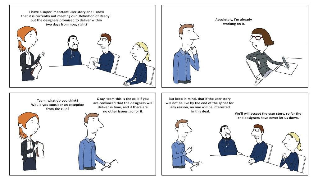Age of Product Scrum Comic Design #3